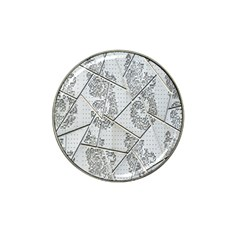 The Abstract Design On The Xuzhou Art Museum Hat Clip Ball Marker (10 Pack)