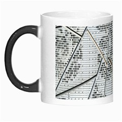 The Abstract Design On The Xuzhou Art Museum Morph Mugs