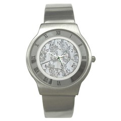 The Abstract Design On The Xuzhou Art Museum Stainless Steel Watch