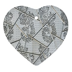The Abstract Design On The Xuzhou Art Museum Heart Ornament (Two Sides)