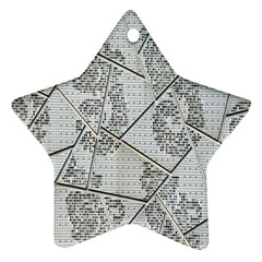 The Abstract Design On The Xuzhou Art Museum Star Ornament (Two Sides)