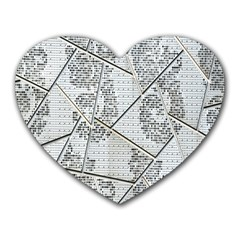 The Abstract Design On The Xuzhou Art Museum Heart Mousepads