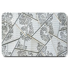 The Abstract Design On The Xuzhou Art Museum Large Doormat