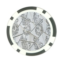 The Abstract Design On The Xuzhou Art Museum Poker Chip Card Guard
