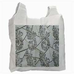 The Abstract Design On The Xuzhou Art Museum Recycle Bag (One Side)