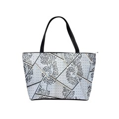 The Abstract Design On The Xuzhou Art Museum Shoulder Handbags