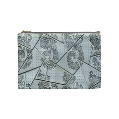 The Abstract Design On The Xuzhou Art Museum Cosmetic Bag (Medium)