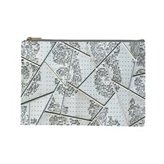 The Abstract Design On The Xuzhou Art Museum Cosmetic Bag (Large)