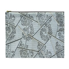 The Abstract Design On The Xuzhou Art Museum Cosmetic Bag (xl)