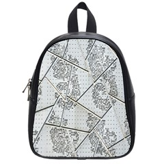 The Abstract Design On The Xuzhou Art Museum School Bags (small)