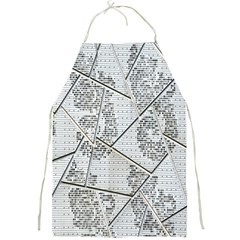 The Abstract Design On The Xuzhou Art Museum Full Print Aprons