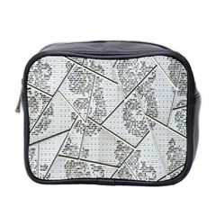 The Abstract Design On The Xuzhou Art Museum Mini Toiletries Bag 2 Side