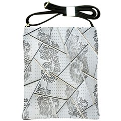 The Abstract Design On The Xuzhou Art Museum Shoulder Sling Bags