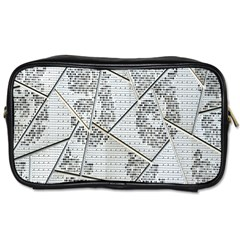 The Abstract Design On The Xuzhou Art Museum Toiletries Bags 2-Side