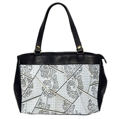 The Abstract Design On The Xuzhou Art Museum Office Handbags (2 Sides)