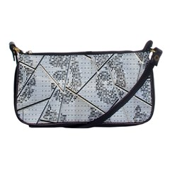 The Abstract Design On The Xuzhou Art Museum Shoulder Clutch Bags