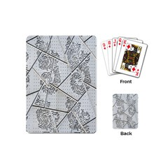 The Abstract Design On The Xuzhou Art Museum Playing Cards (mini)