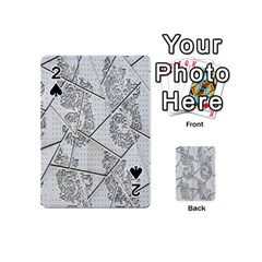 The Abstract Design On The Xuzhou Art Museum Playing Cards 54 (Mini)