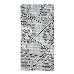 The Abstract Design On The Xuzhou Art Museum Shower Curtain 36  x 72  (Stall)