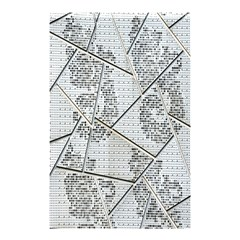 The Abstract Design On The Xuzhou Art Museum Shower Curtain 48  x 72  (Small)