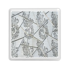 The Abstract Design On The Xuzhou Art Museum Memory Card Reader (square)