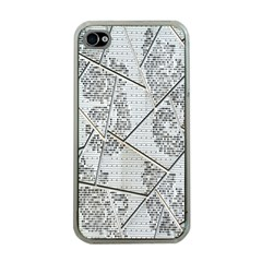 The Abstract Design On The Xuzhou Art Museum Apple Iphone 4 Case (clear)
