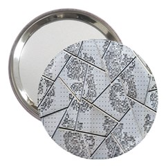 The Abstract Design On The Xuzhou Art Museum 3  Handbag Mirrors
