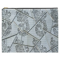 The Abstract Design On The Xuzhou Art Museum Cosmetic Bag (XXXL)