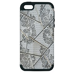The Abstract Design On The Xuzhou Art Museum Apple iPhone 5 Hardshell Case (PC+Silicone)