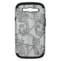 The Abstract Design On The Xuzhou Art Museum Samsung Galaxy S III Hardshell Case (PC+Silicone)
