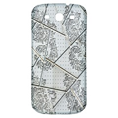 The Abstract Design On The Xuzhou Art Museum Samsung Galaxy S3 S III Classic Hardshell Back Case