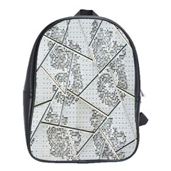The Abstract Design On The Xuzhou Art Museum School Bags (xl)