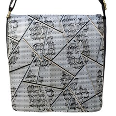 The Abstract Design On The Xuzhou Art Museum Flap Messenger Bag (s)