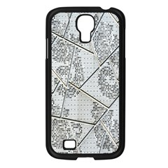 The Abstract Design On The Xuzhou Art Museum Samsung Galaxy S4 I9500/ I9505 Case (Black)