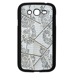 The Abstract Design On The Xuzhou Art Museum Samsung Galaxy Grand DUOS I9082 Case (Black)