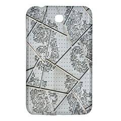 The Abstract Design On The Xuzhou Art Museum Samsung Galaxy Tab 3 (7 ) P3200 Hardshell Case