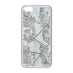 The Abstract Design On The Xuzhou Art Museum Apple iPhone 5C Seamless Case (White)