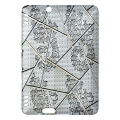 The Abstract Design On The Xuzhou Art Museum Kindle Fire Hdx Hardshell Case