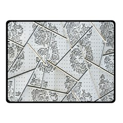 The Abstract Design On The Xuzhou Art Museum Double Sided Fleece Blanket (small)
