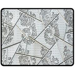 The Abstract Design On The Xuzhou Art Museum Double Sided Fleece Blanket (medium)