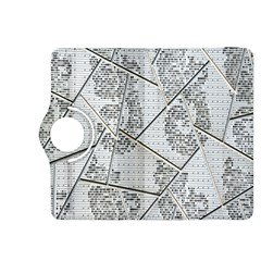 The Abstract Design On The Xuzhou Art Museum Kindle Fire HDX 8.9  Flip 360 Case