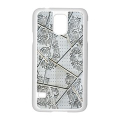 The Abstract Design On The Xuzhou Art Museum Samsung Galaxy S5 Case (white)