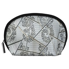 The Abstract Design On The Xuzhou Art Museum Accessory Pouches (large)