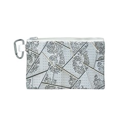 The Abstract Design On The Xuzhou Art Museum Canvas Cosmetic Bag (s)