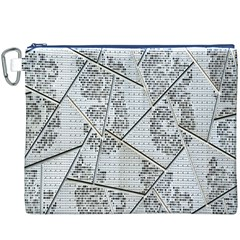 The Abstract Design On The Xuzhou Art Museum Canvas Cosmetic Bag (xxxl)