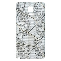 The Abstract Design On The Xuzhou Art Museum Galaxy Note 4 Back Case