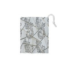 The Abstract Design On The Xuzhou Art Museum Drawstring Pouches (xs)