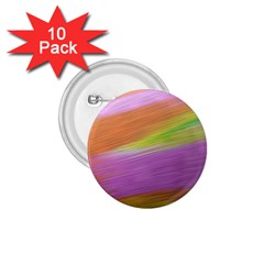 Metallic Brush Strokes Paint Abstract Texture 1.75  Buttons (10 pack)