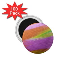 Metallic Brush Strokes Paint Abstract Texture 1 75  Magnets (100 Pack)