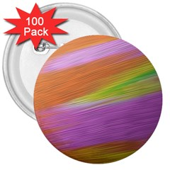 Metallic Brush Strokes Paint Abstract Texture 3  Buttons (100 pack)